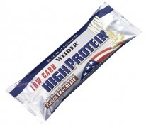 Weider 40% Low Carb High Protein Bar 50гр