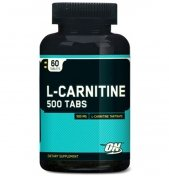 Optimum L-carnitine 500мг 60таб