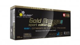 Olimp Gold Omega 3 Sport Edition 1000мг 120капс