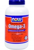 NOW Omega-3 1000мг 100гел.капс