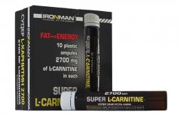 Ironman Super L-Carnitine 25мл*10амп