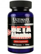 Ultimate Beta Alanine 750мг 100капс